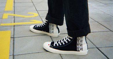 Converse ออกแบบ รองเท่ารุ่นใหม่ คอลเลคชั่น Love Fearlessly